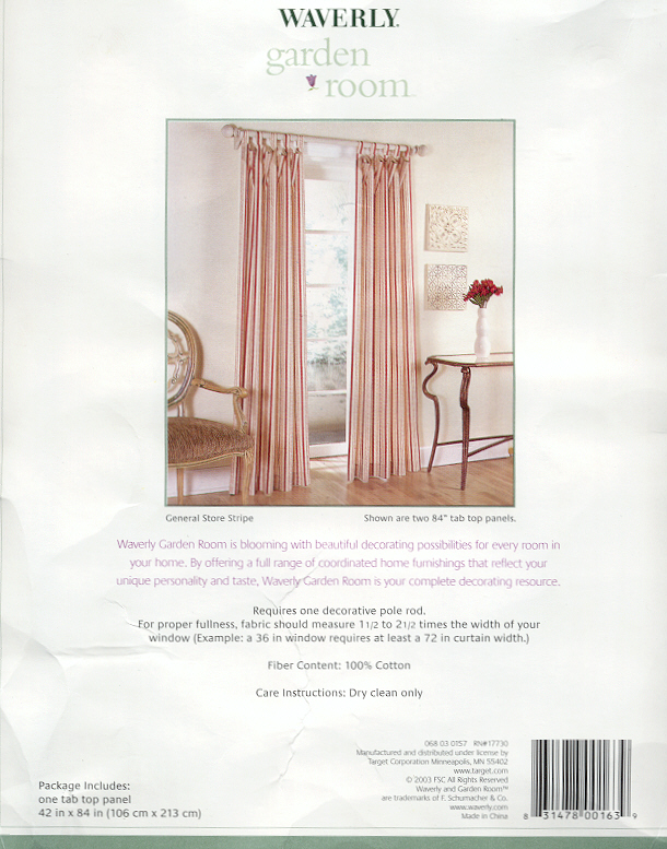 Waverly Garden Room Curtains